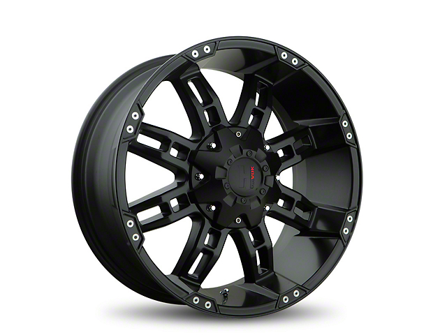 Havok Off-Road H103 Matte Black 6-Lug Wheel; 20x9 (05-20 Tacoma)