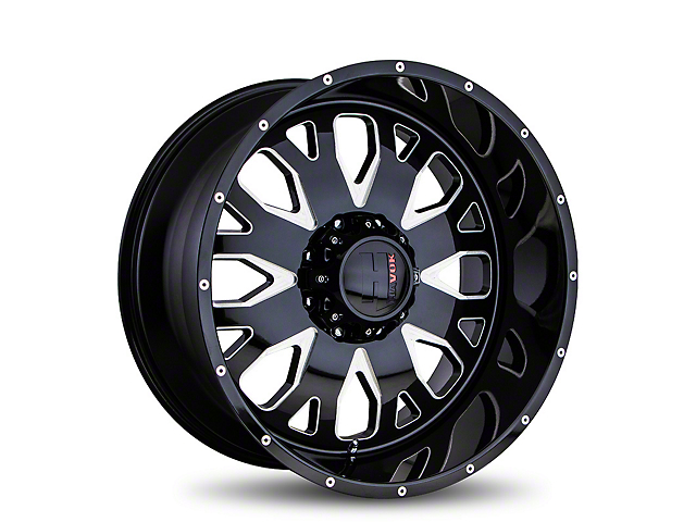 Havok Off-Road H104 Black Milled 6-Lug Wheel - 20x9 (05-19 Tacoma)