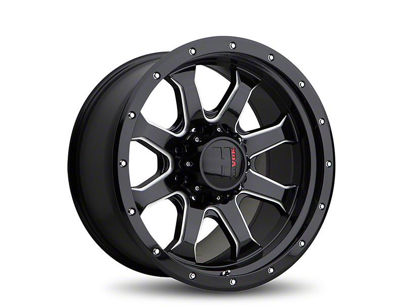 Havok Off-Road H105 Black Milled 6-Lug Wheel - 20x9 (05-19 Tacoma)