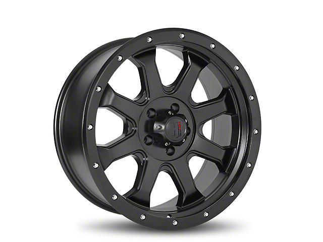Havok Off-Road H105 Matte Black 6-Lug Wheel - 20x9; -12mm Offset (05-19 Tacoma)