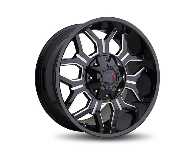 Havok Off-Road H106 Black Milled 6-Lug Wheel - 18x9 (05-19 Tacoma)