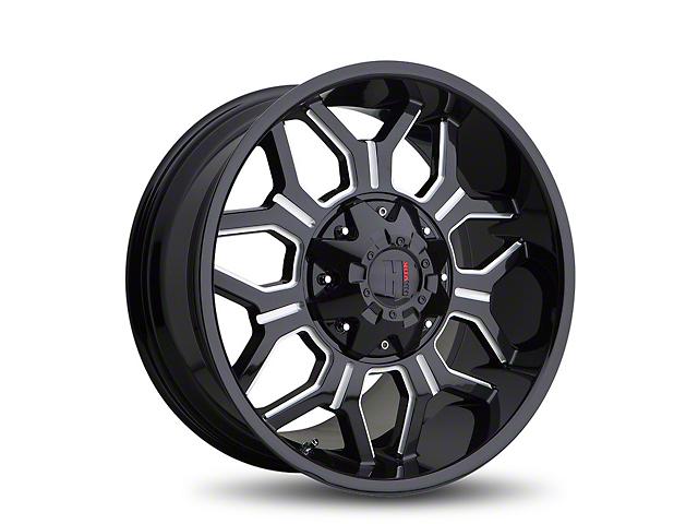 Havok Off-Road H106 Black Milled 6-Lug Wheel - 20x9 (05-19 Tacoma)