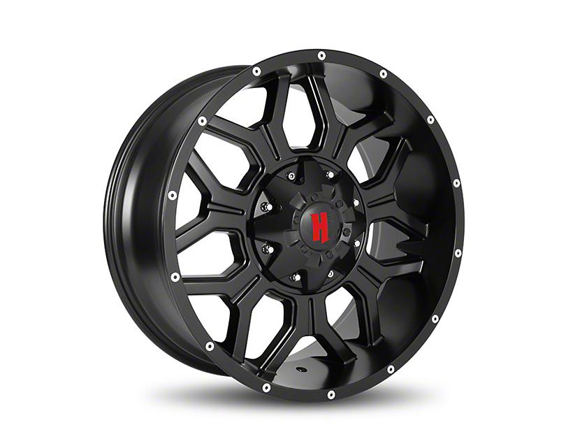 Havok Off-Road H106 Matte Black 6-Lug Wheel - 20x9 (05-19 Tacoma)