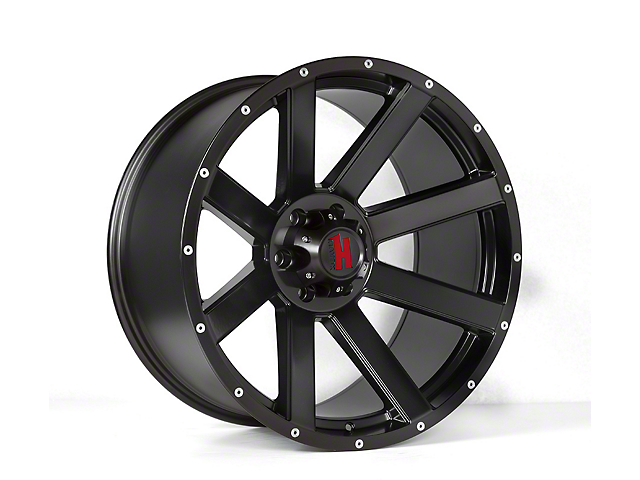 Havok Off-Road H107 Matte Black 6-Lug Wheel - 20x9; -12mm Offset (05-19 Tacoma)