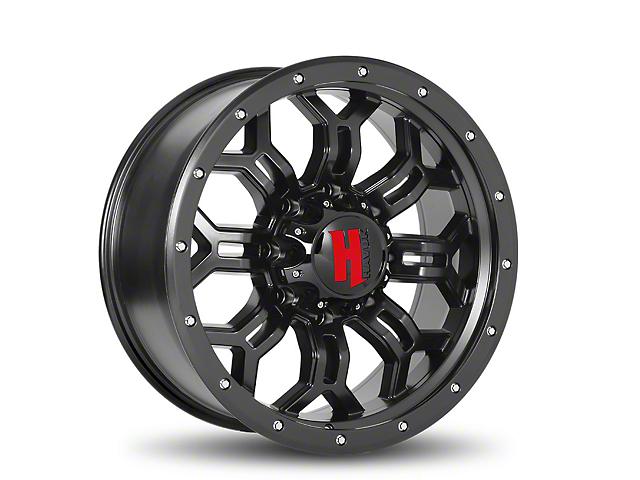 Havok Off-Road H108 Matte Black 6-Lug Wheel - 20x9; -12mm Offset (05-19 Tacoma)