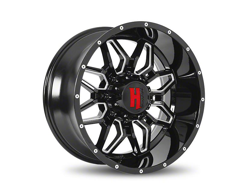 Havok Off-Road H109 Black Milled 6-Lug Wheel - 18x9 (05-19 Tacoma)