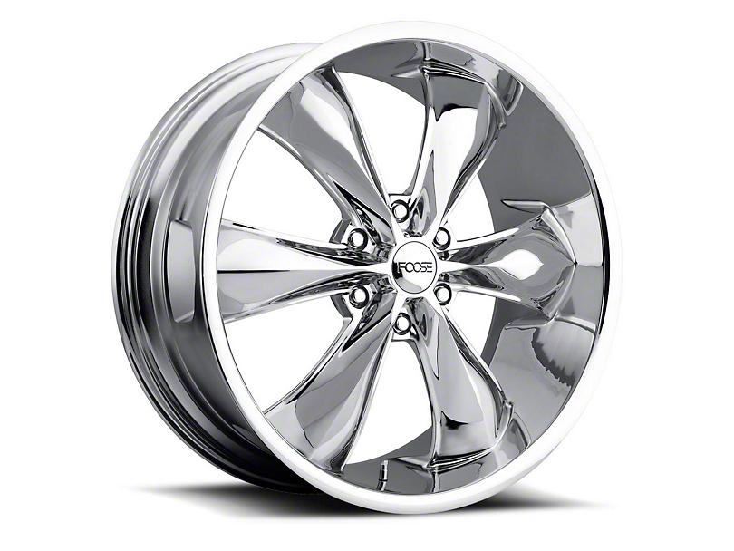 Foose Legend Six Chrome 6-Lug Wheel - 20x9; 25mm Offset (05-20 Tacoma)