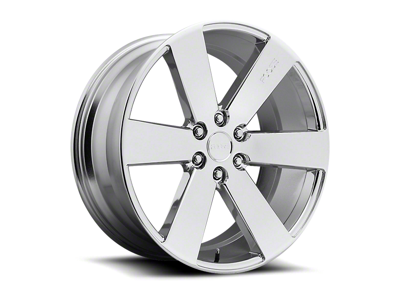 Foose Switch Chrome 6-Lug Wheel; 20x9.5; 30mm Offset (05-15 Tacoma)