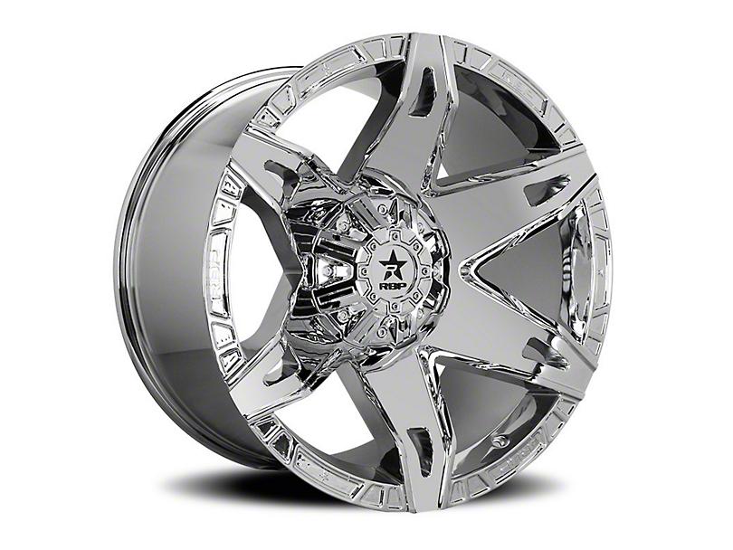 RBP 70R Quantum Chrome 6-Lug Wheel - 20x10 (05-19 Tacoma)