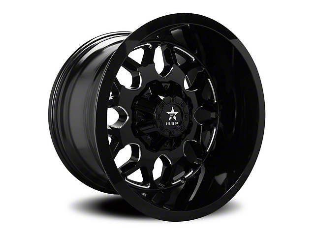 RBP 73R Atomic Gloss Black w/ Machined Grooves 6-Lug Wheel - 20x9 (05-19 Tacoma)