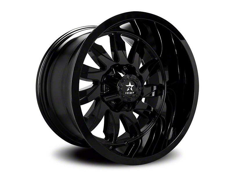RBP 74R Silencer Gloss Black 6-Lug Wheel - 20x10 (05-19 Tacoma)