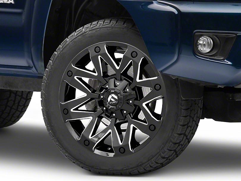 Fuel Wheels Ambush Gloss Black Milled 6-Lug Wheel; 20x10; -18mm Offset (05-15 Tacoma)