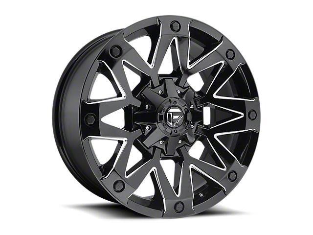 Fuel Wheels Ambush Gloss Black Milled 6-Lug Wheel - 20x9 (05-19 Tacoma)