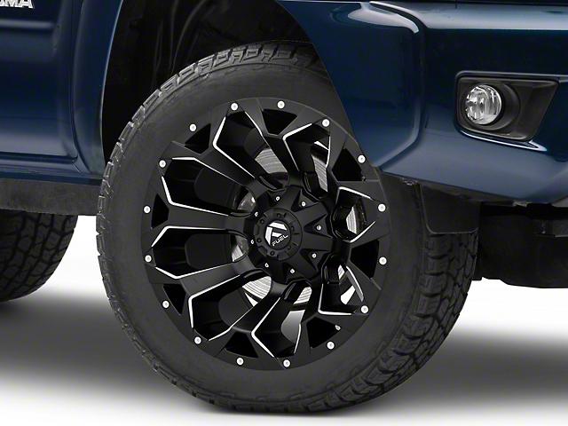 Fuel Wheels Assault Satin Black Milled 6-Lug Wheel; 20x10; -18mm Offset (05-15 Tacoma)