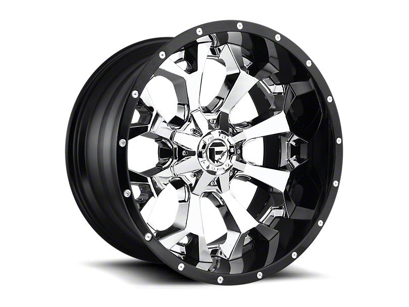Fuel Wheels Assault Chrome 6-Lug Wheel; 20x10; -18mm Offset (05-15 Tacoma)