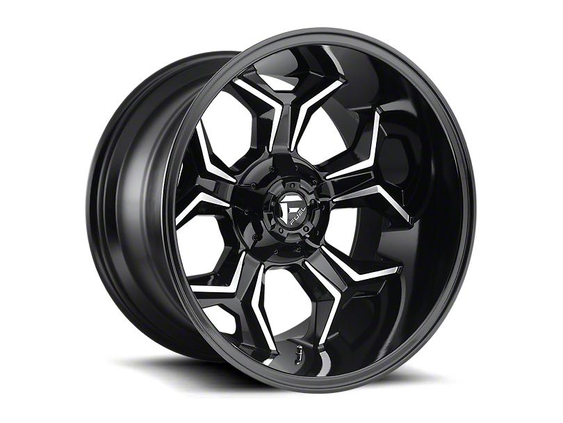 Fuel Wheels Avenger Gloss Black Machined 6-Lug Wheel - 20x10; -18mm Offset (05-20 Tacoma)