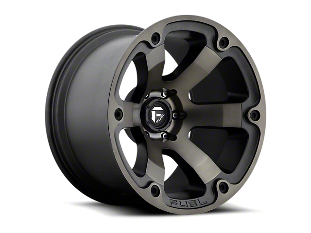 Fuel Wheels Beast Black Machined w/ Dark Tint 6-Lug Wheel - 18x9 (05-19 Tacoma)