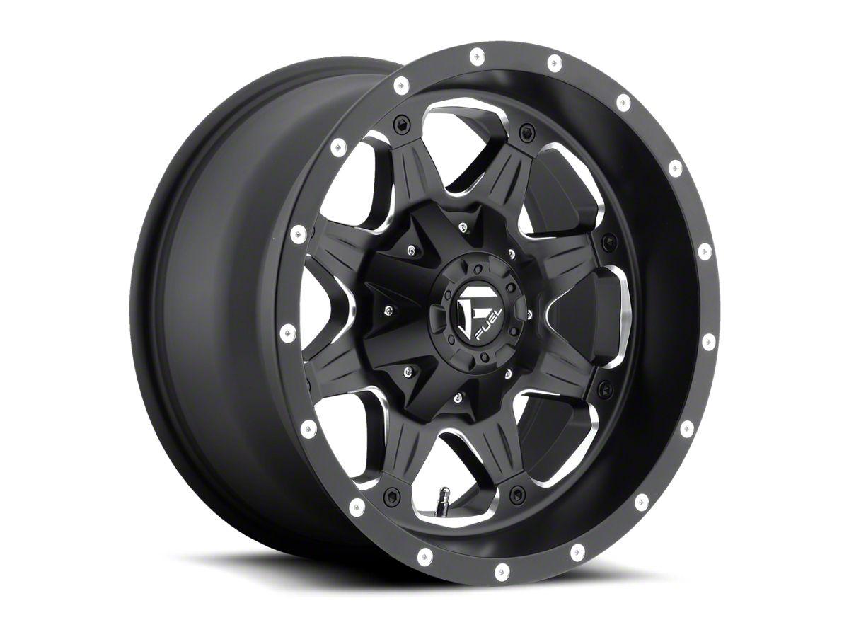 Fuel Wheels 20x9 >> Fuel Wheels Boost Black Milled 6 Lug Wheel 20x9 05 19 Tacoma