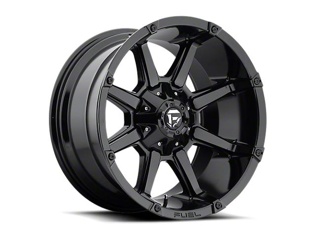 Fuel Wheels Coupler Gloss Black 6-Lug Wheel; 20x9; 1mm Offset (16-20 Tacoma)