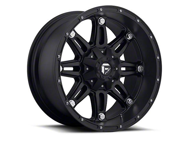 Fuel Wheels Hostage Matte Black 6-Lug Wheel; 17x9 (05-20 Tacoma)