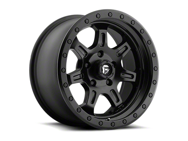 Fuel Wheels JM2 Matte Black 6-Lug Wheel - 17x8.5 (05-19 Tacoma)