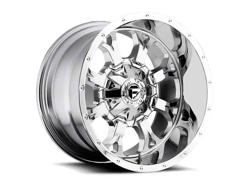 Fuel Wheels Krank Chrome 6-Lug Wheel; 18x9 (05-20 Tacoma)