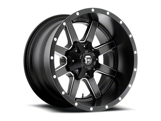 Fuel Wheels Maverick Black Milled 6-Lug Wheel - 17x9 (05-19 Tacoma)