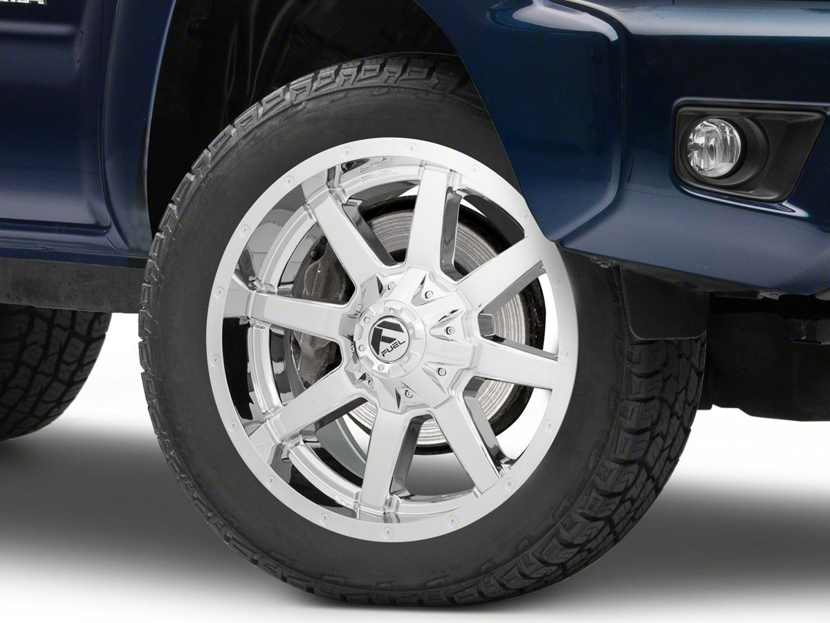 Fuel Wheels 20x9 >> Fuel Wheels Maverick Chrome 6 Lug Wheel 20x9 1mm Offset 05 15 Tacoma