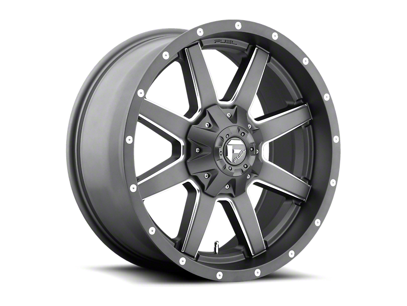 Fuel Wheels Maverick Gun Metal 6-Lug Wheel; 20x9; 1mm Offset (05-15 Tacoma)