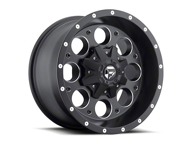 Fuel Wheels Revolver Black Milled 6-Lug Wheel - 17x9 (05-20 Tacoma)