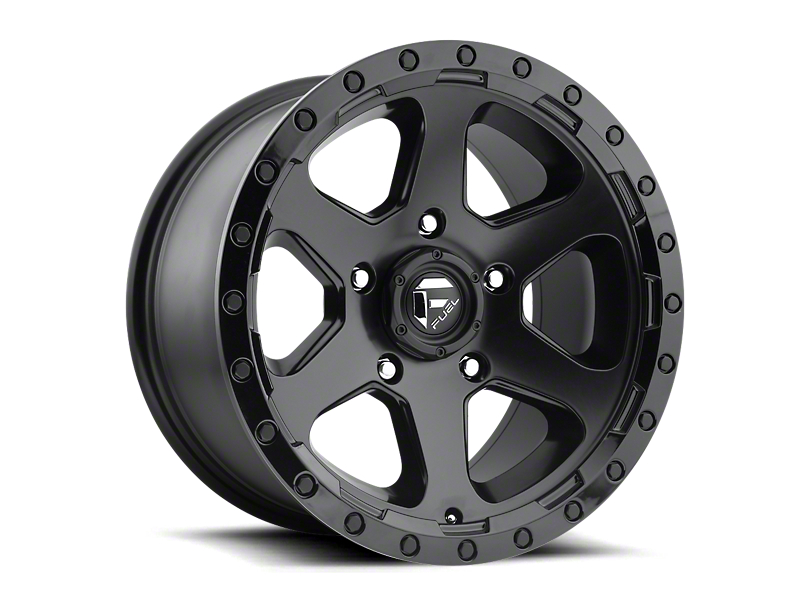 Fuel Wheels Ripper Matte Black 6-Lug Wheel; 17x9; 20mm Offset (16-20 Tacoma)