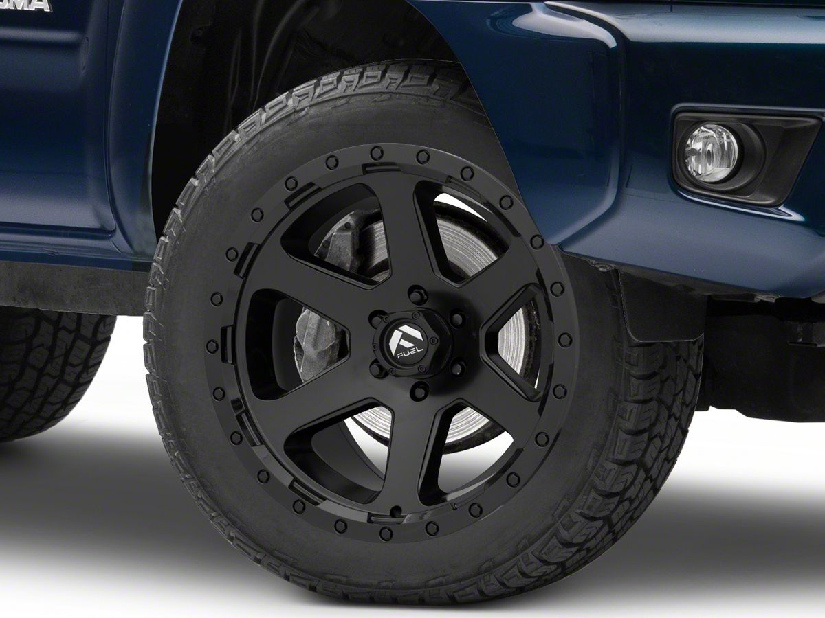 Fuel Wheels 20x9 >> Fuel Wheels Ripper Matte Black 6 Lug Wheel 20x9 20mm Offset 05 19 Tacoma
