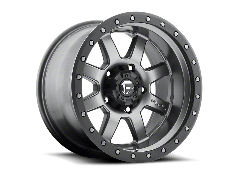 Fuel Wheels Trophy Anthracite w/ Black Ring 6-Lug Wheel - 17x8.5 (05-19 Tacoma)