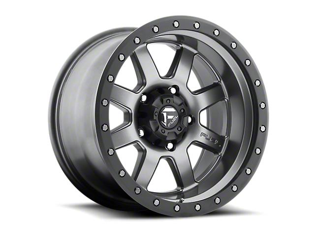 Fuel Wheels Trophy Anthracite w/ Black Ring 6-Lug Wheel - 20x9; 1mm Offset (05-19 Tacoma)
