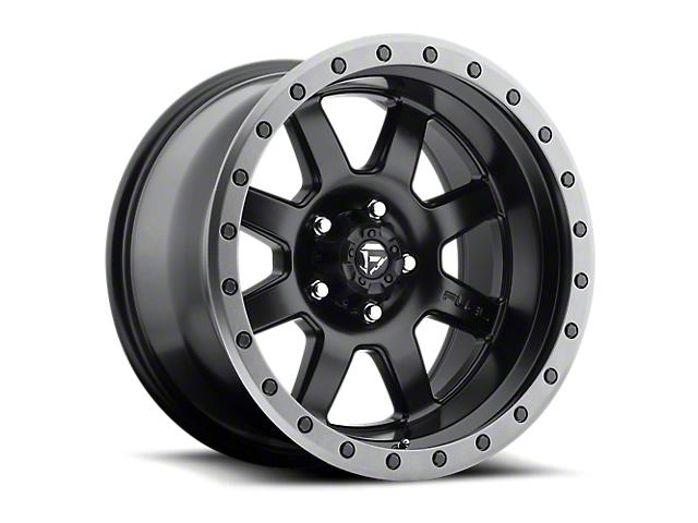 Fuel Wheels Trophy Matte Black 6-Lug Wheel; 18x10; -12mm Offset (05-15 Tacoma)