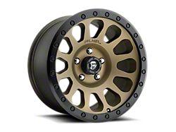 Fuel Wheels Vector Bronze 6-Lug Wheel; 17x9; -12mm Offset (05-15 Tacoma)