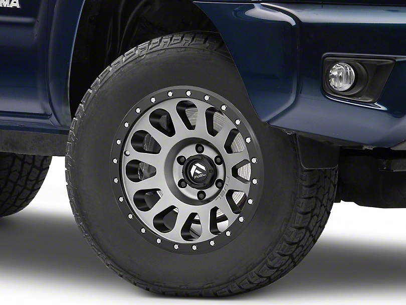 Fuel Wheels Vector Gun Metal 6-Lug Wheel - 17x8.5; 7mm Offset (05-15 Tacoma)
