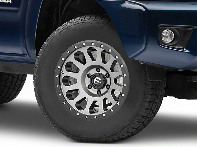 Fuel Wheels Vector Gun Metal 6-Lug Wheel; 17x9; -12mm Offset (05-15 Tacoma)