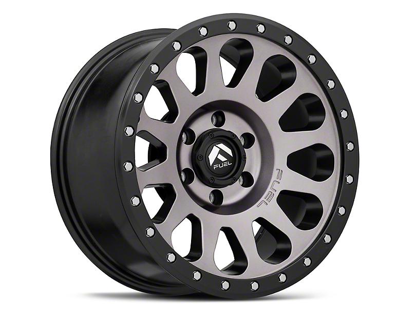 Fuel Wheels Vector Gun Metal 6-Lug Wheel; 18x9; 1mm Offset (05-15 Tacoma)