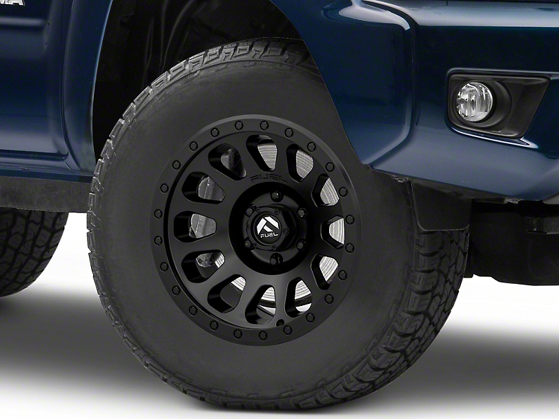Fuel Wheels Vector Matte Black 6-Lug Wheel; 17x9; -12mm Offset (05-15 Tacoma)