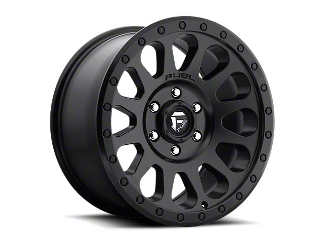 Fuel Wheels Vector Matte Black 6-Lug Wheel; 18x9 (05-20 Tacoma)