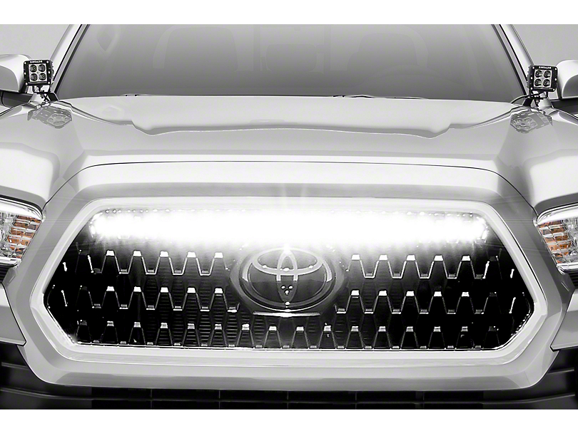 ZRoadz 30 in. LED Light Bar w/ Behind Grille Mounting Brackets (18-20 Tacoma TRD)