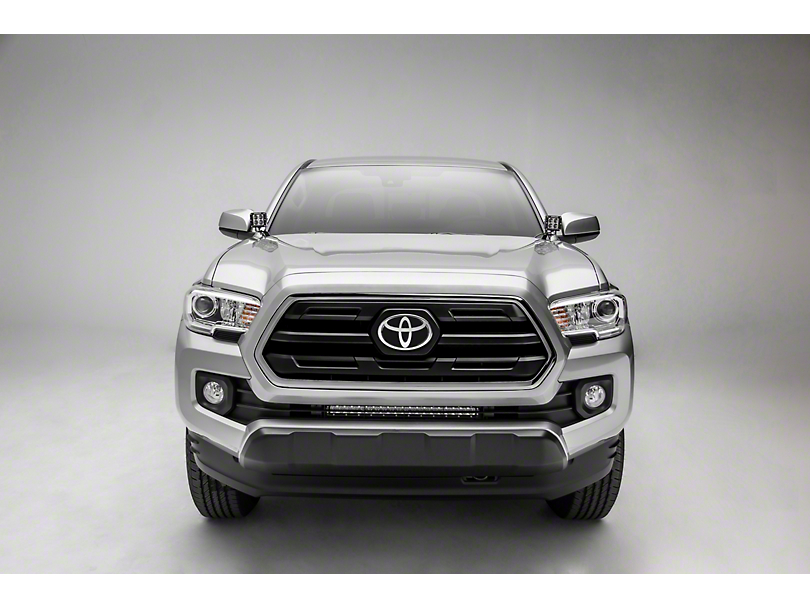 ZRoadz 20 in. LED Light Bar w/ Behind Lower Grille Mounting Brackets (18-19 Tacoma)