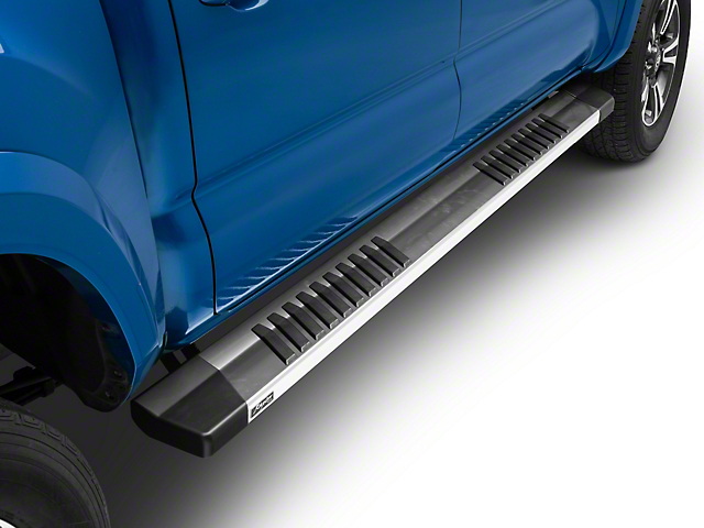 Raptor Series 6-Inch OE Running Boards; Aluminum (05-20 Tacoma Double Cab)