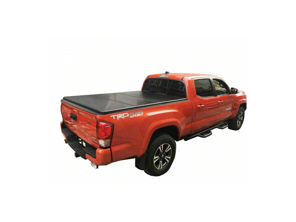 Tacoma Hard Tri Fold Tonneau Cover 16 20 Tacoma W 6 Ft Bed