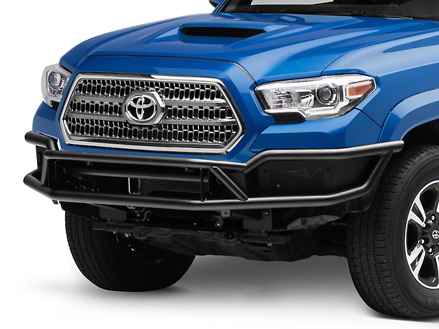 Outlaw Front Bumper; Textured Black (16-21 Tacoma)