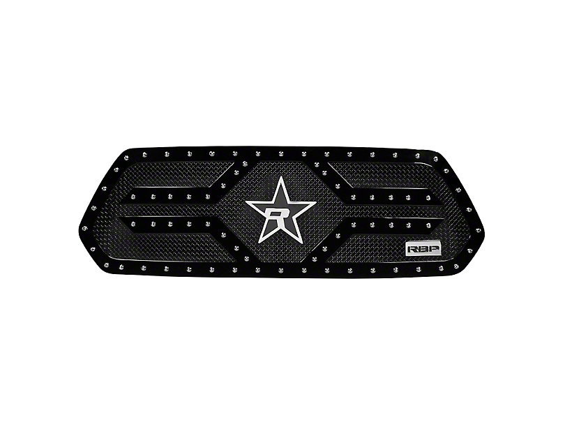RBP RX-2 Series Studded Frame Upper Replacement Grille - Black (16-20 Tacoma)