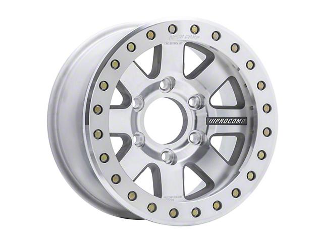 Pro Comp Wheels Trilogy Race Machined 6-Lug Wheel; 17x9; -6mm Offset (05-15 Tacoma)