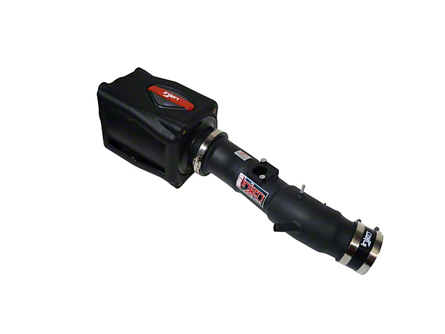 Injen Power-Flow Cold Air Intake with Power-Flow Box; Wrinkle Black (05-11 4.0L Tacoma)