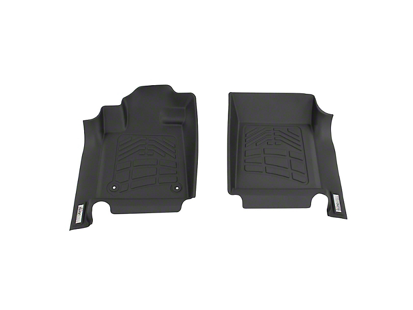 Next Edge Sure-Fit Front Floor Liners - Black (05-11 Tacoma)